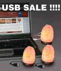 USB Salt Lamp Package Deal, Spiritual Quest