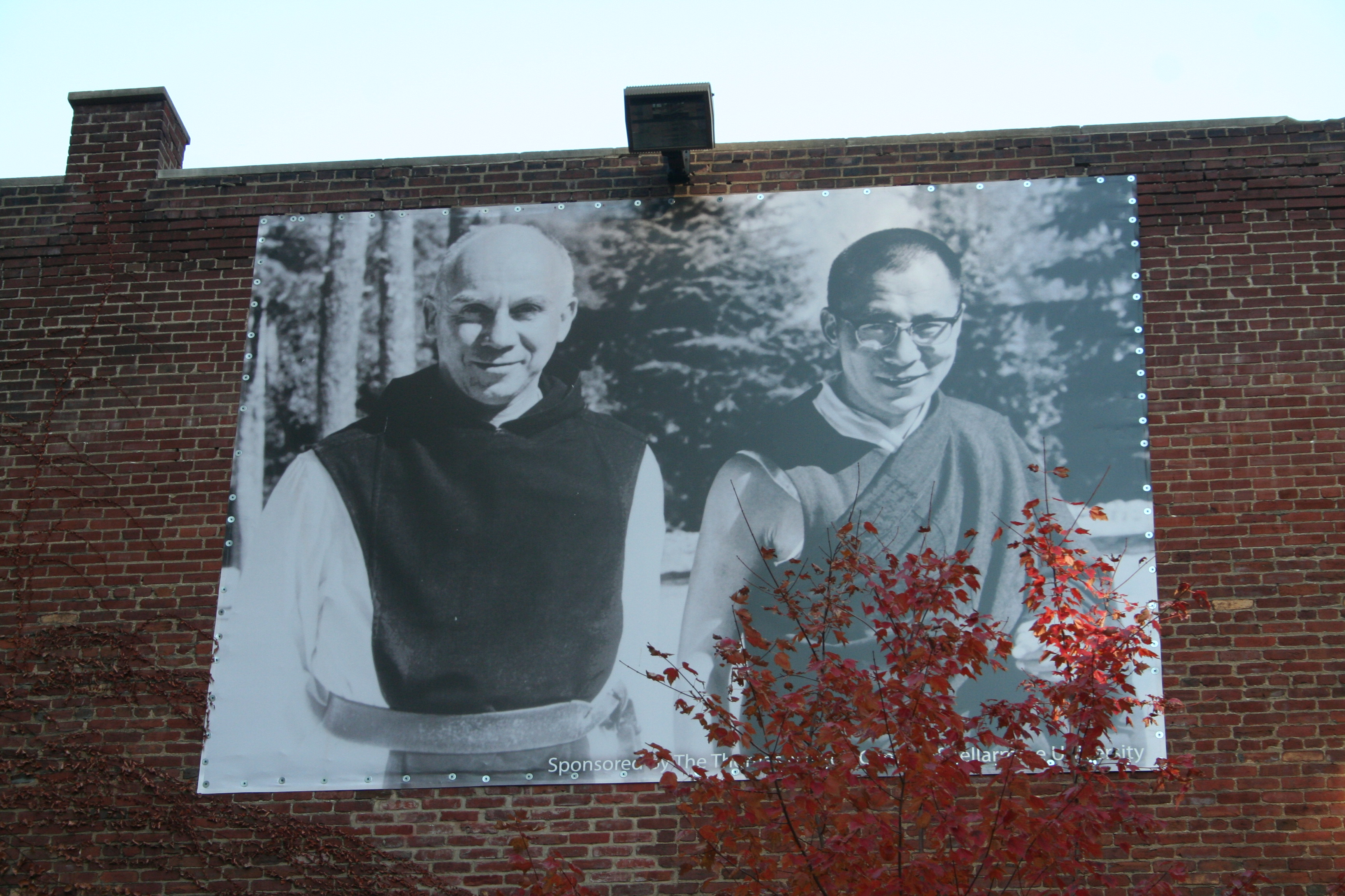 ... Louisville of Thomas Merton and the Dalai Lama (Lori Erickson photo