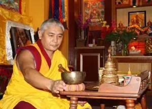 Geshe Kalsang Rapgyal, director of the Drepung Gomang Institute in Louisville, Kentucky (Lori Erickson photo)