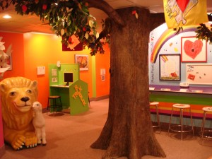 Children's Peace Pavilion at the Community of Christ Temple (photo by Independence MO Tourism)