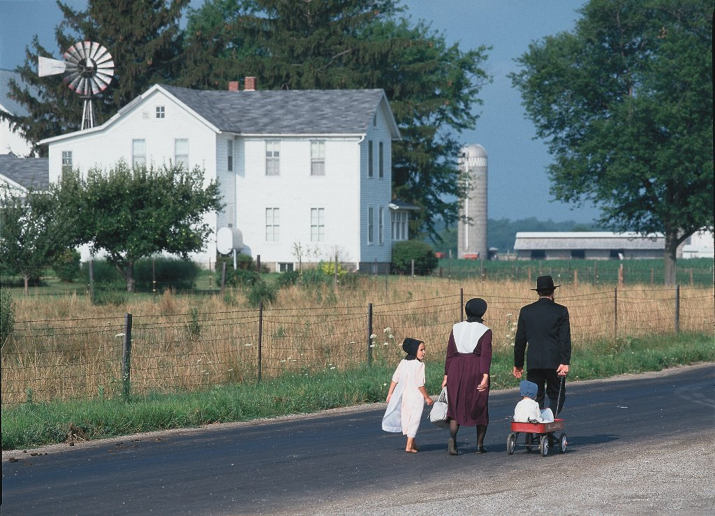 amish country in northern