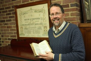 John D. Roth is director of the Mennonite Historical Library at Goshen College. (Bob Sessions photo)