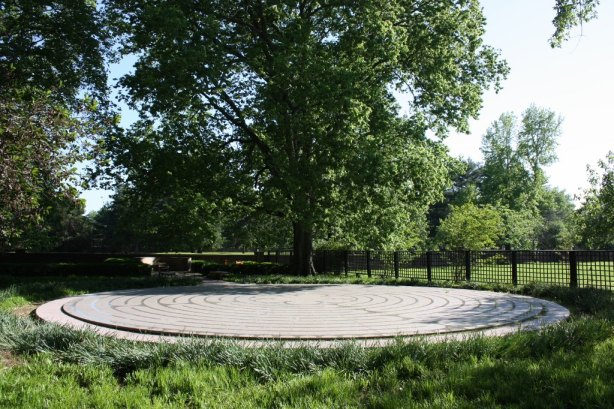 This labyrinth in New Harmony is based on a design from Chartres Cathedral in France. (Bob Sessions photo)