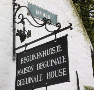 The Beguine Museum preserves a typical home of the Beguine religious community in Bruges. (Bob Sessions photo)