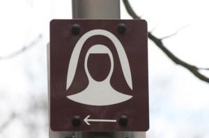 The Hildegard Trail in Bingen (Bob Sessions photo)
