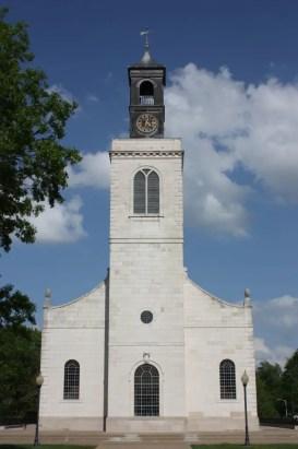 Church of St. Mary the Virgin, Aldermanbury, in Fulton, Missouri (Bob Sessions photo)