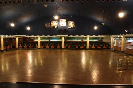 interior of Surf Ballroom in Iowa