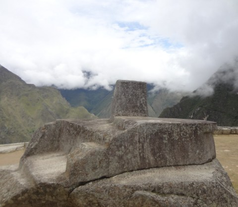 The enigmatic Intihuatana stone at Machu Picchu clearly had significant importance. (Lori Erickson photo)