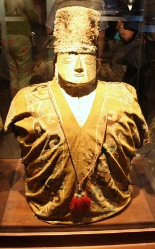 A mummy in the Larco Museum in Lima, Peru (Lori Erickson photo)