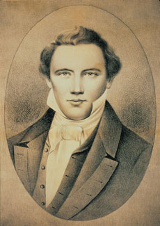 Joseph Smith (photo from LDS.org)