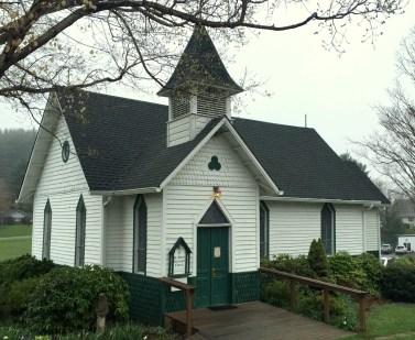 Rural church in North Carolina