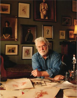 Today Ben Long works from a studio in Asheville, North Carolina. (photo from Ben Long Studio)