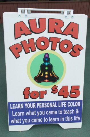 Who needs to study philosophy when aura photos are available? (Bob Sessions photo)