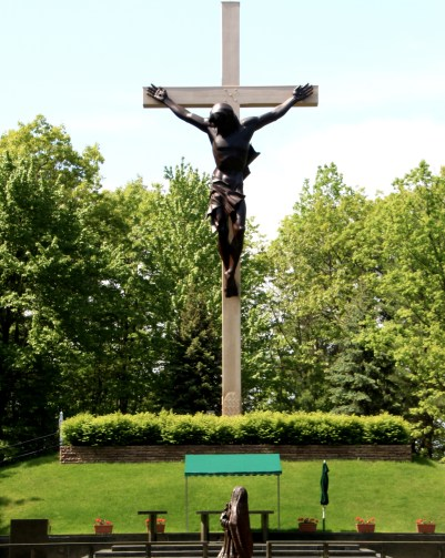 large outdoor cross