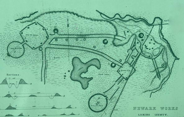 Newark earthworks map