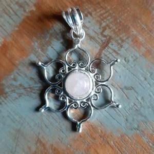 Zilver met edelsteen