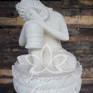 Boeddha urn natuursteen