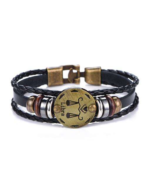 Sterrenbeeld-Armband-Weegschaal