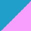 Blauw - Roze