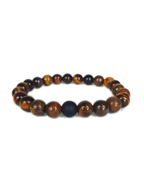 Dubbele-Tibetaans-Boeddhistische-Tijgeroog-armband-2