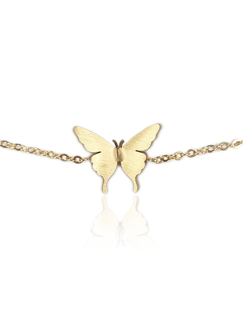 Goudkleurige-vlinder-vrijheid-armband-slider