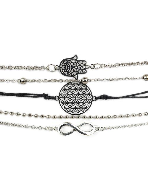 Hamsa-Infinity-Multi-Armband