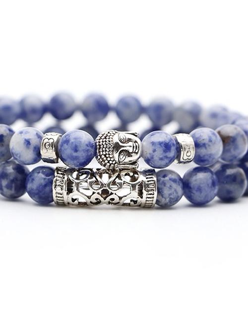Set-van-twee-Boeddhistische-Howliet-armbanden
