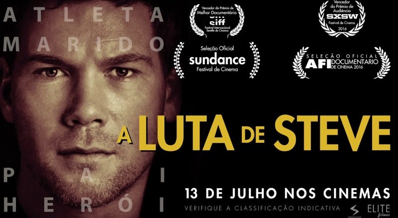 "Cartaz do filme ""A Luta de Steve"""
