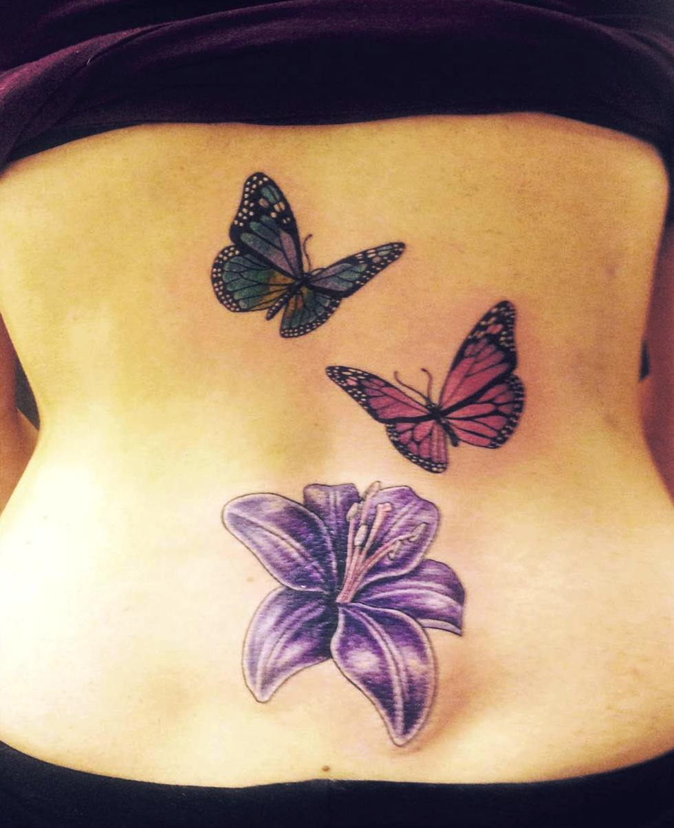 Tattoos For Women On Lower Back On Side