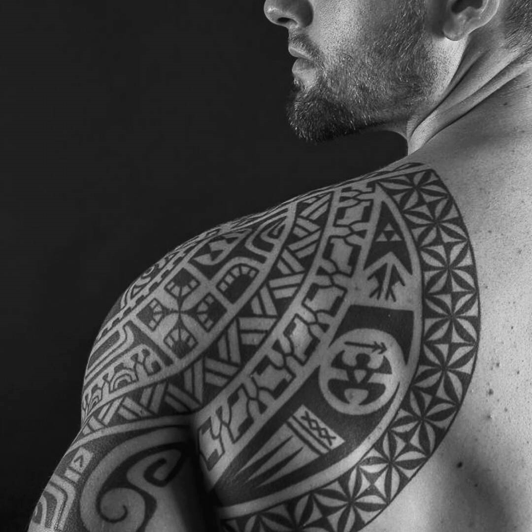 Tattoo Design For Men Back