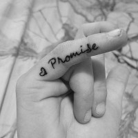 Promise Tattoo On Pinky Finger Tumblr | www.pixshark.com ...