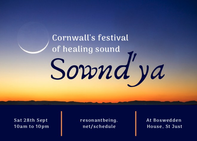 SOwnd'ya - one day Sound Healing festival