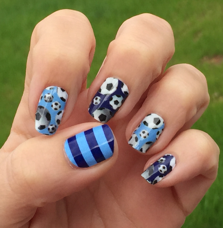 New York City Fc Soccer Nails