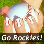 colorado rockies baseball nail