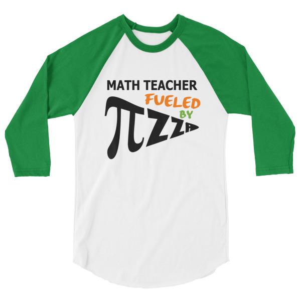 Stand Out Designs Shirts : Math teacher fueled by pizza pi shirt spirit west designs