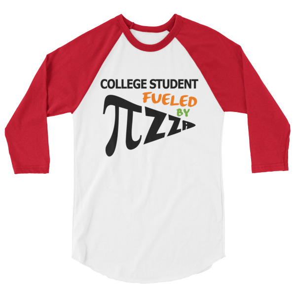 Stand Out Designs Shirts : College student fueled by pizza pi shirt spirit west designs
