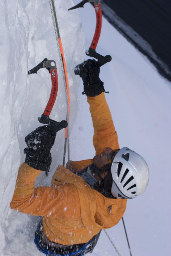 Spiroll Ice Climbing