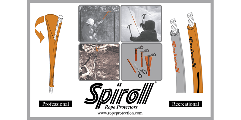 Spiroll Rope Protector applications