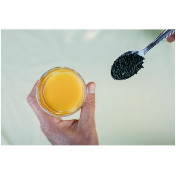 La spiruline avec de la vitamine C pour se prémunir de maladies avant l'hiver, les rhums, la grippe, les virus.