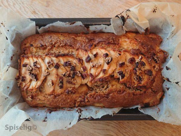 Eplekake i brødform