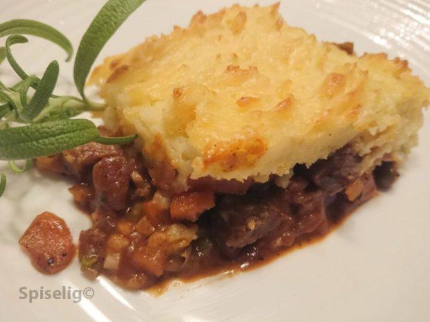Kjøttgryte med potetmos Cottage Pie