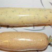Hvitløksmør og kryddersmør