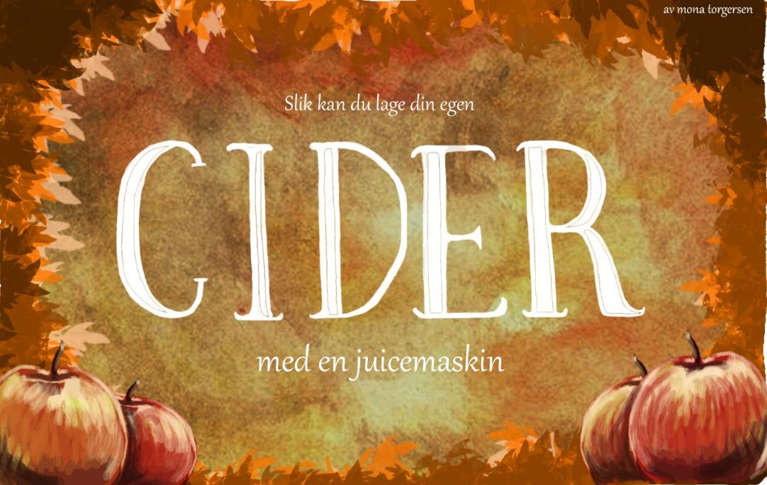 Hjemmelaget Eple Cider