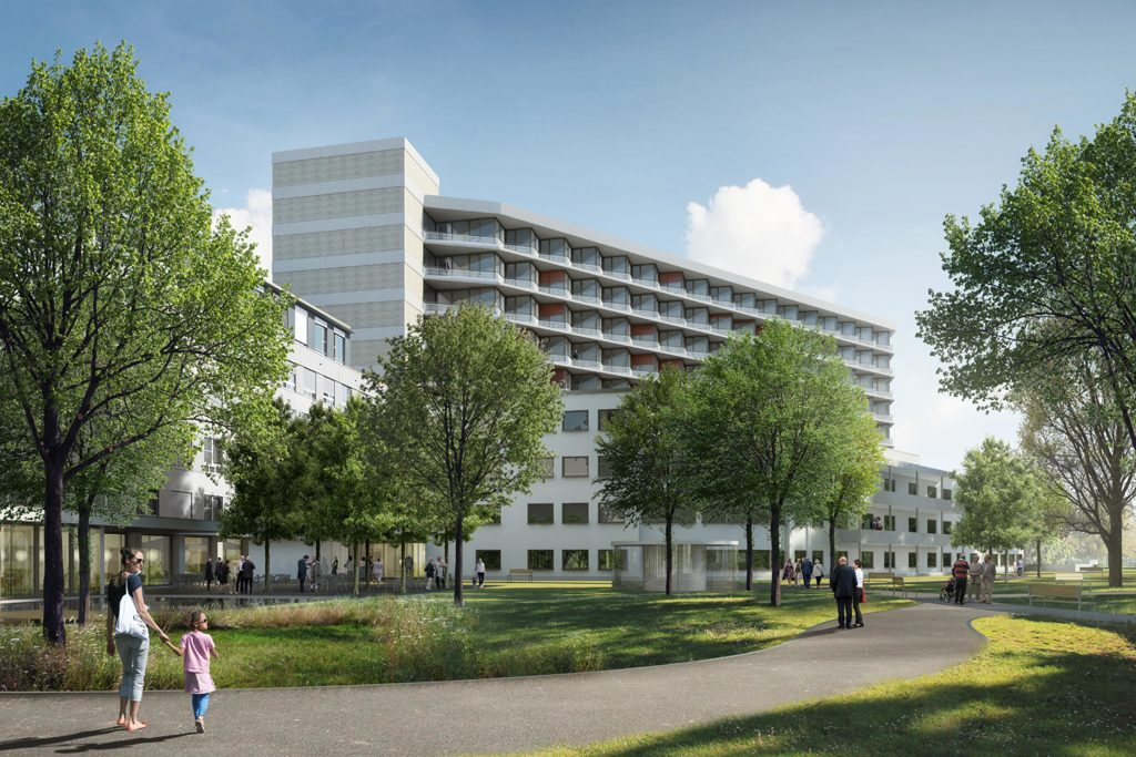 Stimmvolk genehmigt Bauprojekt Spital Uster  Spital Uster