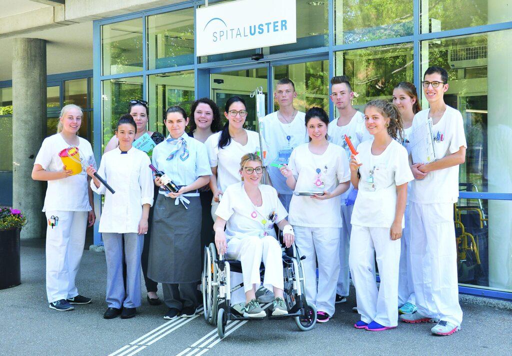 LAP 2017 Herzliche Gratulation  Spital Uster
