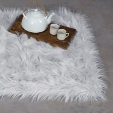 Γούνινο Χαλάκι (60x90) Nima Carpets Fluffy Grey