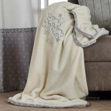 Κουβέρτα Βελουτέ Κούνιας Kentia Baby Baby Dream