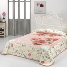 Κουβέρτα Βελουτέ Υπέρδιπλη Morven Mora C00/04 Pink