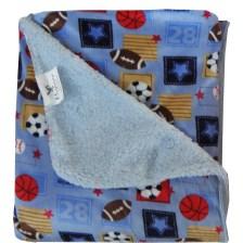 Κουβέρτα Fleece Μονή Με Γουνάκι Viopros Σχ 72