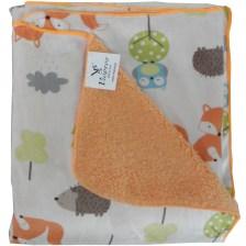 Κουβέρτα Fleece Αγκαλιάς Με Γουνάκι Viopros Σχ 73